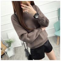 new Autumn winter Korean fashion comfortable loose  Knitting sweater coat