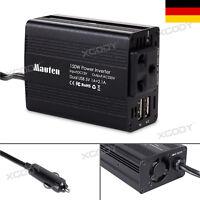Spannungswandler 12V/220V 150W Wechselrichter PKW KFZ Inverter mit USB Ladegerät