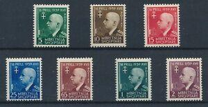 [30144] Albania 1942 Good set Very Fine MH stamps