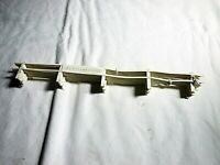 Strombecker 1/32 Slot Car Lot of 8  White Guard Rail in Excellent Condition