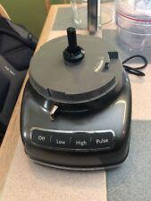 Kitchen Aid Food Processor Motor For Parts Works Model Model Kpf1133Qg Gray