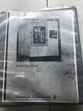 charmilles Robofil 330 F Maintenance Manual #1