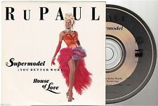 RU PAUL supermodel CD SINGLE france french card sleeve
