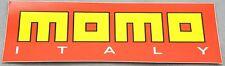 MOMO CORSE Decal Sticker Vinyl 200mm x 70mm New