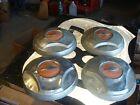 (4) 1964 1965 1966 Chevy Chevrolet C20 Truck Dog Dish Hub Caps Wheel Covers