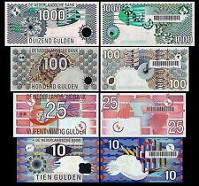 Olanda 4 banconote 2° Serie  (Riproduzione/copy)