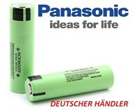 Panasonic Li-Ion Akku 3,6V-3,7V 2900mAh - 10A Entladestrom NCR18650PF NCR18650PD