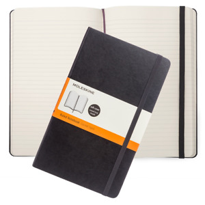 MOLESKINE Classic Large Soft Cover Ruled Notebook - A5 - Free P&P - BRAND NEW