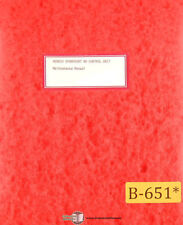 Bendix Dynapoint 40, Control Unit Maintenance Manual Year (1964)