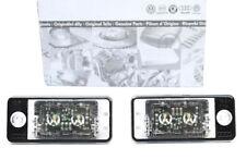 NEU! AUDI A6 S6 4F Q7 Kennzeichenbeleuchtung LED S-Line Nummernschildbeleuchtung