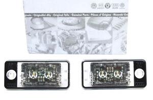 Original Audi LED Kennzeichenbeleuchtung für A6 S6 4F Q7 4L A4 8E A3 8P RS6 RS4
