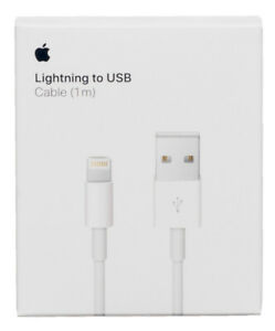 Genuine Apple iPhone Cable USB Lightning Charger ⭐ 1M ⭐ Boxed ⭐ 5 6 7 8 11 12 X