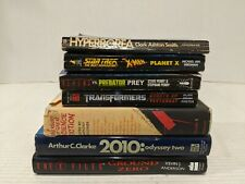 2010: Odyssey Two and 6 other sci fi/ fantasy book lot. X men x files Free Ship!