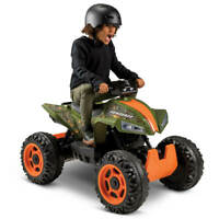Huffy Electric Ride On Quad Kids 12V Renegade MP3-Compatible, Camouflage NEW
