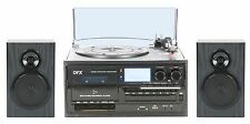 QFX TURN-250 Turntable Audio System With Speakers (Each)