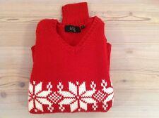 Basile maglione maglia pullover rosso nordico