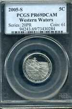2005 S JEFFERSON WESTERN WATERS NICKEL PCGS PR69DCAM