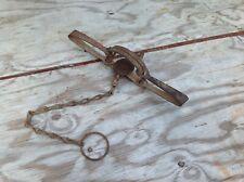 Vintage Triumph No. 3 Trap with Chain