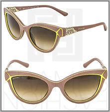 BVLGARI Brown Beige Green Sunglasses Cat Eye Gradient 8156B DIVA DIVINA BV 8156