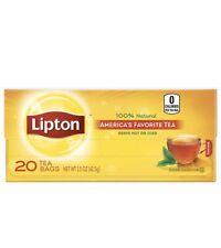 Lipton Black Tea 20ct