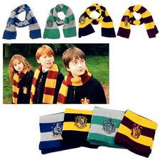 Kids Fashion Harry Potter Gryffindor Hufflepuff Ravenclaw Warm Scarf Wrap Scarfs