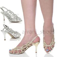 Sandali e scarpe da sera spillo per il mare da donna