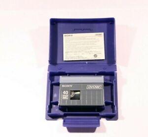 SONY PDVM-40N DVCam Tape - Cassette