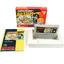 Super Mario All Stars - Nintendo SNES Game Boxed with Manual - Classics Red Box