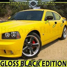 2006 2007 2008 2009 2010 DODGE CHARGER GLOSS BLACK Door Handle COVERS+Mirrors