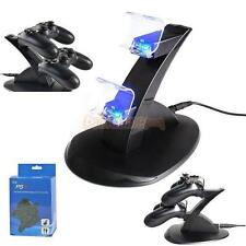 Dual Controller Charger Dock Station USB Fast Charging Stand For PlayStation PS4