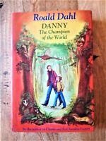 1975 1ST / 1ST EDITION DANNY THE CHAMPION OF THE WORLD ROALD DAHL (MATILDA, BFG)