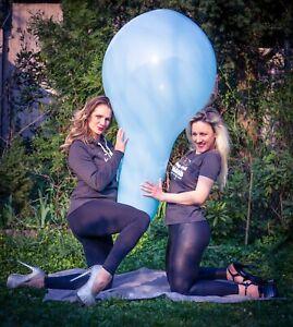 """1 x Cattex 32"""" LONGNECK Luftballon GEMISCHTE FARBEN *Ø 80CM* XXL NECK*BALLOON*"""