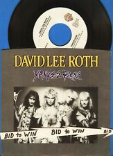David Lee Roth 45 Vinyl Record with Picture Sleeve Yankee Rose Steve Vai 1986