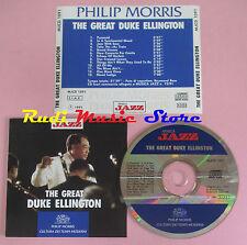 CD DUKE ELLINGTON The great 1991 italy PROMO MUSICA JAZZ MJCD 1091(Xs8)lp mc dvd