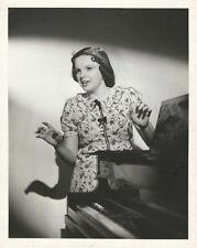 JUDY GARLAND VINTG 10 X 8 PORTRAIT BROADWAY MELODY OF 1938 '37 STAMPED C.S.BULL