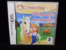 Mi granja de caballos para Nintendo DS Nuevo y precintado