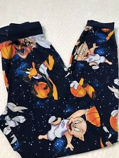 Space Jam Tunesquad Basketball Looney Tunes Pajama Pants Joggers Size Small