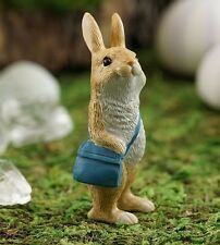 Little Messenger Rabbit Bunny TO 4617 Miniature Fairy Garden