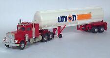 """Union 76 Gasoline Truck Oil Tanker Semi Tractor Trailer 13.75"""" Scale Model"""