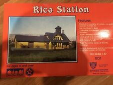 IHC HO Scale kit Rico Station