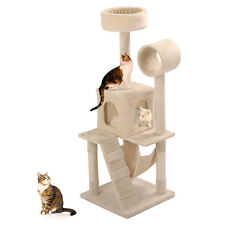 2017 New Deluxe Cat Tree Tower Condo Scratcher Furniture Kitten House Hammock