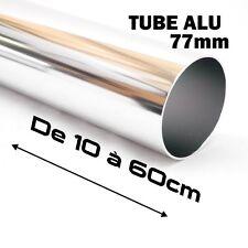 TUBE DROIT ALUMINIUM MONTAGE DE FILTRE D'ADMISSION AIR DIRECT 50CM DIAMETRE:76mm