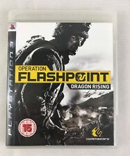 PS3 Operation Flashpoint Dragon Rising (2009), UK Pal, New & NOT Sealed