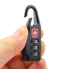 High 3 Digit Mini code Metal Combination Travel Luggage Lock Padlock Password YL