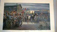 "Mort Kunstler Civil War Art- "" Twilight in Gettysburg"" (Lee, July 3,1863)"