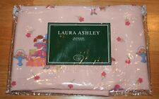 Laura Ashley Sham Little Girls Dressing Up Std 20x26 Pink Floral Stripes Vintage