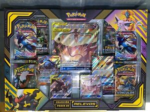 Pokemon Spanish - Tag Team Powers (poder de relevos) Premium Collection