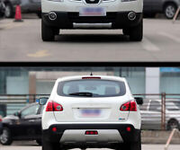 ABS Front Rear Bumper Protector Guard Cover For Nissan Qashqai/Dualis 2007-2013