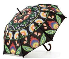 Wycinanki Lowicz Black Folding Umbrella