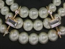 Faux Pearl Necklace Choker and Earrings Comes with Box Inventory 395934